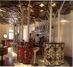 国际商业空间0087,国际商业空间,商业空间展示,工人 柱子 椅子