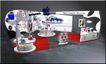 展台展柜0116,展台展柜,商业空间展示,桌子 前台