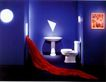 个人家庭用品0011,个人家庭用品,广东摄影年鉴2007,卫生间 红布 装饰画