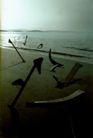 公益0003,公益,广东摄影年鉴2007,海滩 黄昏 潮水