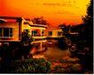 房地产0006,房地产,广东摄影年鉴2007,黄昏 景观 园林