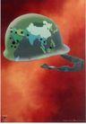 台湾海招贴画0077,台湾海招贴画,招贴画设计,头盔