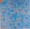 慕尼黑当代抽像画展0065,慕尼黑当代抽像画展,招贴画设计,蓝色调