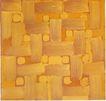 慕尼黑当代抽像画展0066,慕尼黑当代抽像画展,招贴画设计,黄色调