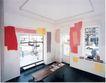 慕尼黑当代抽像画展0106,慕尼黑当代抽像画展,招贴画设计,装饰 椅子 窗户