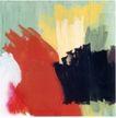 慕尼黑当代抽像画展0110,慕尼黑当代抽像画展,招贴画设计,笔刷 红色