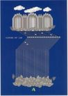 日本广告精品0081,日本广告精品,日本广告精选,白云 竖条 半圆
