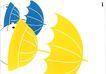 日本广告精品0120,日本广告精品,日本广告精选,雨伞 帽子