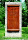 公园标识牌0007,公园标识牌,矢量名片模板,石碑 文字 介绍