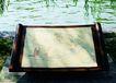 公园标识牌0043,公园标识牌,矢量名片模板,湖水 地图 垂柳