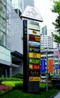 商业标识牌0007,商业标识牌,矢量名片模板,繁华 街头 灯箱