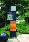 社区标识牌0050,社区标识牌,矢量名片模板,小区 平面图 结构