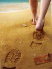 个人用品0006,个人用品,第十三届中国广告节获奖作品集,沙滩 脚印 步行