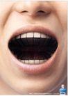 中时广告获奖作品0090,中时广告获奖作品,第十三届中国广告节获奖作品集,张口 牙齿 口腔