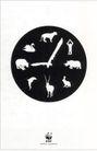 公益0108,公益,第十三届中国广告节获奖作品集,动物 钟表