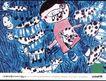 公益0120,公益,第十三届中国广告节获奖作品集,卡通画