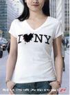 家庭用品0007,家庭用品,第十三届中国广告节获奖作品集,黑心 白色 短袖