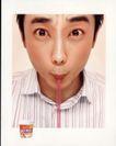 非酒精饮料0005,非酒精饮料,第十三届中国广告节获奖作品集,男子 吸管 喝奶
