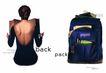 服装饰物0016,服装饰物,食品服饰化妆品,大旅行包 女性背部 看书