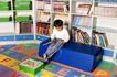 学前教育0091,学前教育,亲子教育,书房 男孩 看书