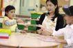 学前教育0095,学前教育,亲子教育,小朋友 桌子 游戏