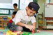 学前教育0102,学前教育,亲子教育,在幼儿园 玩积木 玩耍