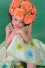 儿童0052,儿童,亲子教育,花朵装饰 可爱儿童 沉默造型