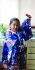 儿童0055,儿童,亲子教育,家庭照 和服 摆造型