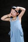 可爱造型0019,可爱造型,亲子教育,手势 扮酷 动作