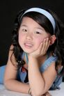 可爱造型0025,可爱造型,亲子教育,思考 活泼 女儿