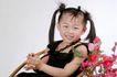 可爱造型0031,可爱造型,亲子教育,坐着 椅子 花朵