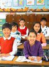 小学教育0051,小学教育,亲子教育,少年儿童 上课时 开心上课