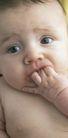 新生婴儿0080,新生婴儿,亲子教育,嘴咬 手指 吸吮