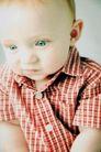 新生婴儿0103,新生婴儿,亲子教育,双眼皮 格子衬衣 外国婴儿