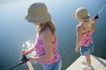 童趣0008,童趣,亲子教育,湖面 码头 钓鱼