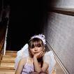 童趣0019,童趣,亲子教育,穿戴 婚纱 楼梯口