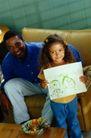 美国家庭0012,美国家庭,亲子教育,展示 绘画 幻想