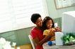 美国家庭0041,美国家庭,亲子教育,在家