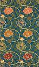 中国底纹0035,中国底纹,底纹,黄菊 花布