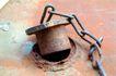 铁锈底纹0073,铁锈底纹,底纹,铁栓 锁链 环扣