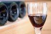 葡萄酒0013,葡萄酒,生活,横倒 瓶底 桌面
