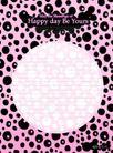 图形花纹背景0010,图形花纹背景,分层花纹,黑斑 圆圈 中央