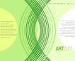 图形花纹背景0021,图形花纹背景,分层花纹,绿色 丝带 圆弧