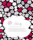图形花纹背景0023,图形花纹背景,分层花纹,花形 轮廓 时尚