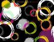 图形花纹背景0025,图形花纹背景,分层花纹,擦涂 水墨 圆圈