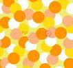 图形花纹背景0070,图形花纹背景,分层花纹,圆圈 浅黄 层叠