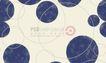 图形花纹背景0073,图形花纹背景,分层花纹,蓝黑 球斑 圆环