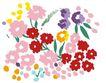 小花纹系列0043,小花纹系列,分层花纹,花样 色调 斑斓