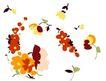 小花纹系列0048,小花纹系列,分层花纹,画境 优美 花姿