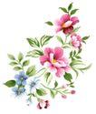 小花纹系列0063,小花纹系列,分层花纹,